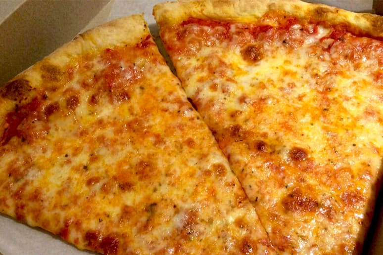 #49 J&V Pizzeria, Bensonhurst, Brooklyn (Cheese)