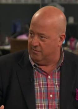 Andrew Zimmern Trashes Food Shows | Interviews