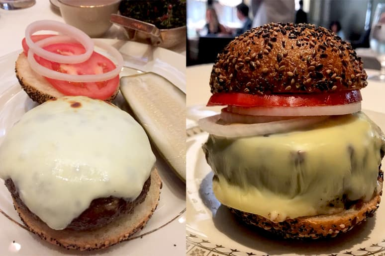 #8 The Grill, New York City: Cheeseburger ($41)