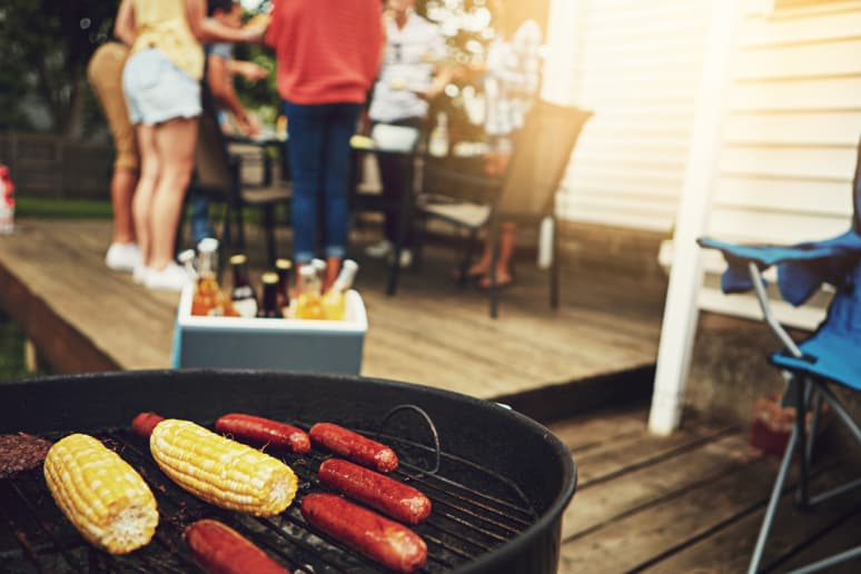Put Your Grill in a Safe Location