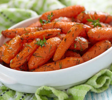 Lemon and Tangerine Glazed Carrots