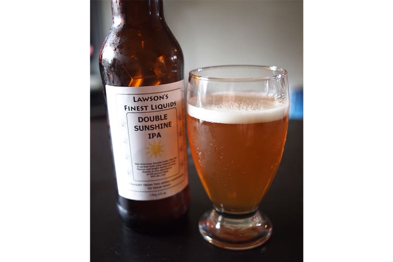 Lawson's Finest Double Sunshine IPA