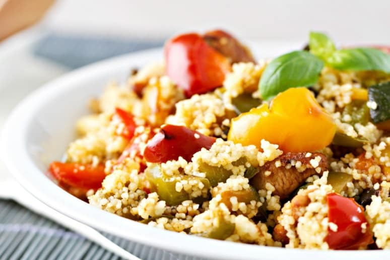 moroccan spiced couscous salad