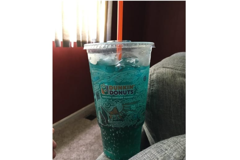 Unhealthiest: Blue Raspberry Dunkin' Energy Punch Powered by Monster Energy