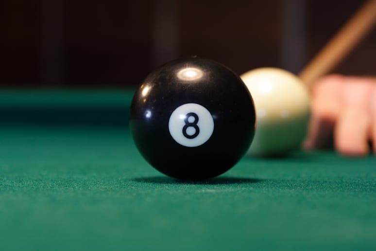 'Behind the Eight Ball'