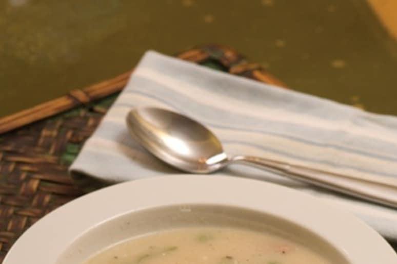 White Turnip Soup