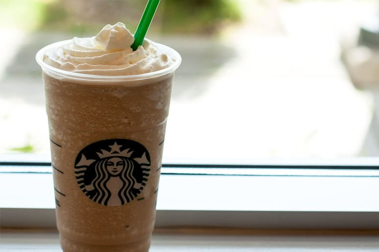 2. White Chocolate Mocha Frappuccino Blended Coffee