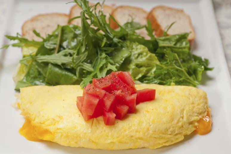 how to cook omelette in microwave