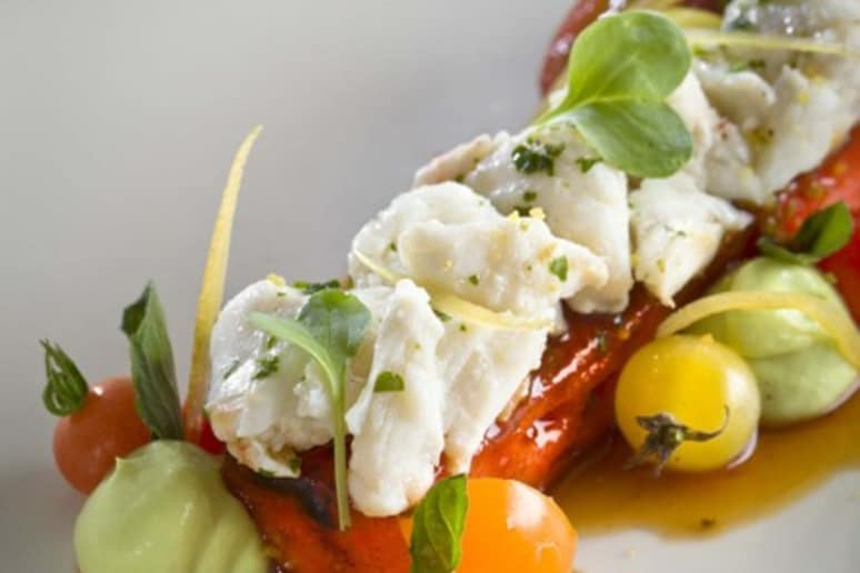 Jumbo Lump Crab Salad with Seared Watermelon