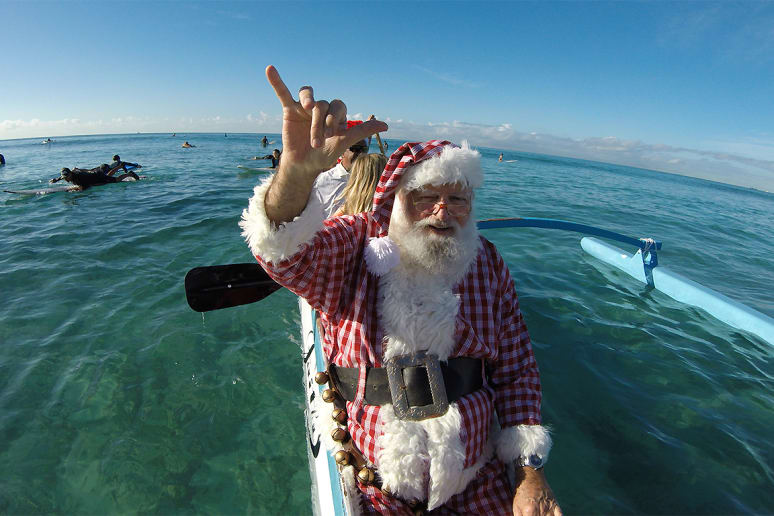 The World's Most Popular Santa Clauses