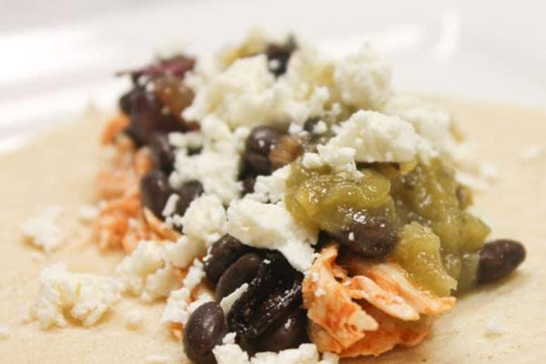 Cholula Chicken Tacos with Feta