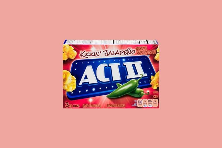 Act Ii Kickin Jalapeño Microwave Popcorn
