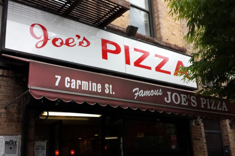 #19 Joe's, New York, N.Y. (Cheese)