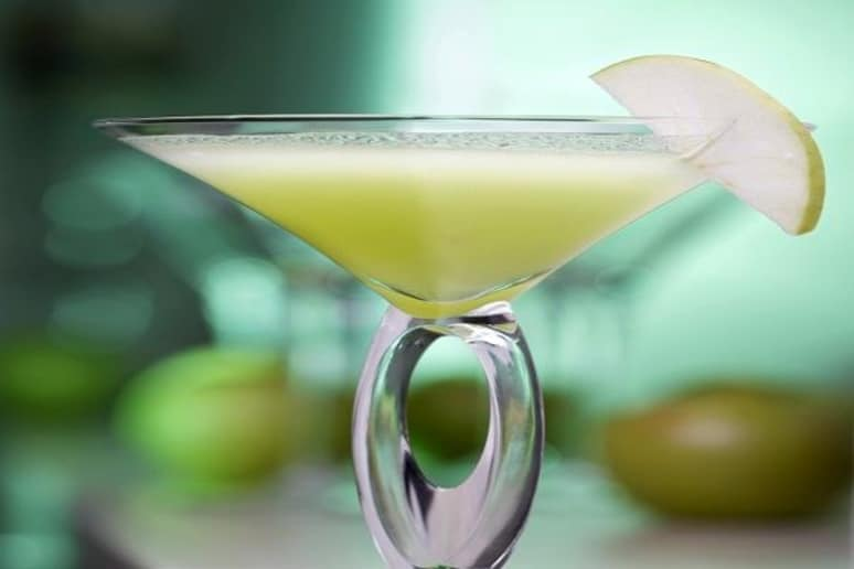 Applesauce Cake Martini Recipe by Soni Satpathy