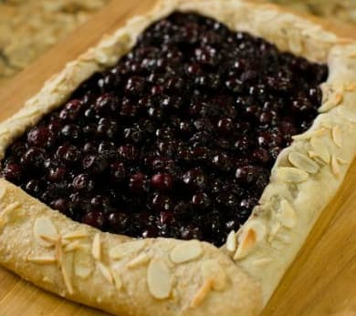 Rustic Blueberry Tar