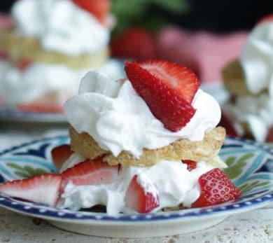 Gluten Free Strawberry Shortcake