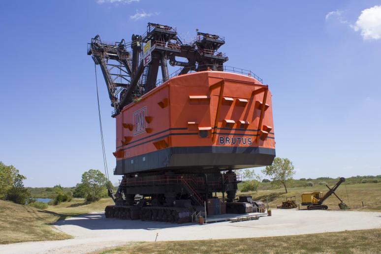 Kansas: Big Brutus (West Mineral)