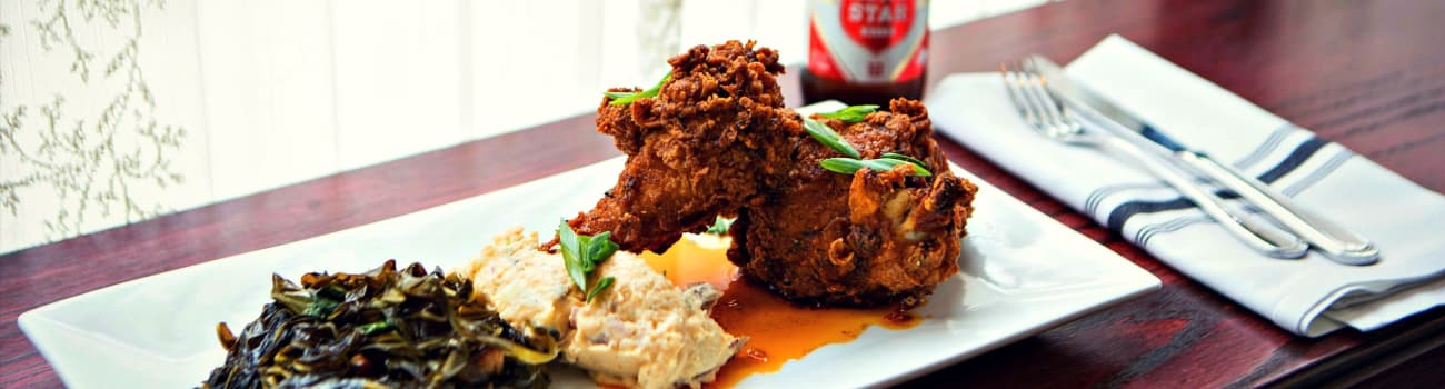 Hot chicken and Lone Star