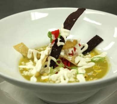 The Cutting Room's Corn Soup