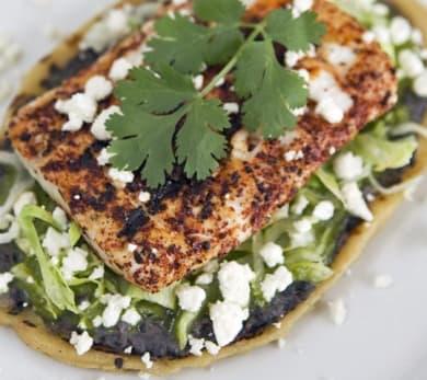 Grilled Chicken Huarache
