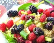 Quinoa-Berry Salad