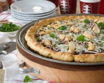 Gluten-Free Barbecue Chicken Pizza