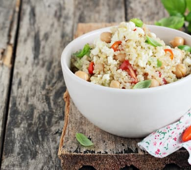 Apple and Quinoa Salad