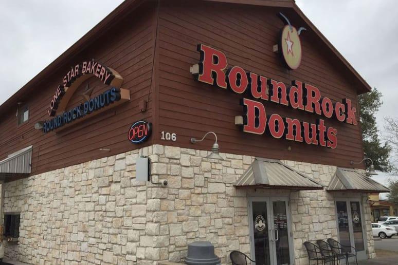 Texas: Round Rock Donuts, Round Rock