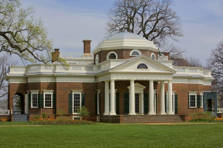 Virginia: Monticello (Charlottesville)