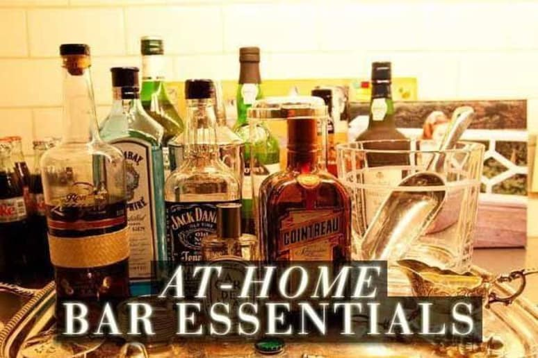 At-Home Bar Essentials | Booze Tips