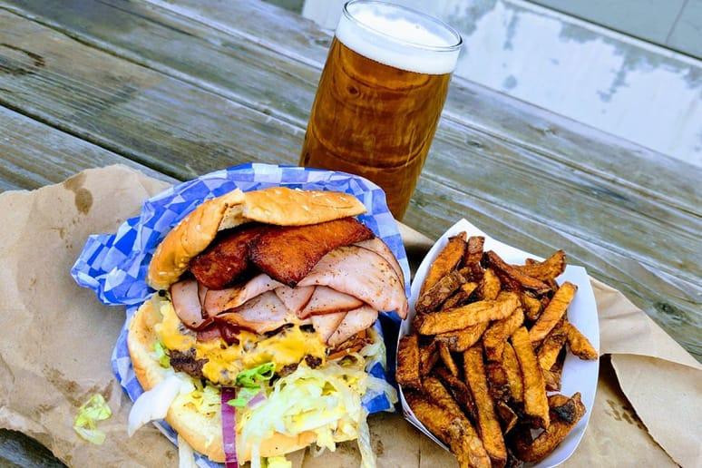 #9 Stoopid Burger, Portland, Ore.: Ignorant Burger ($40)