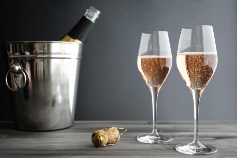 Menu: Champagne