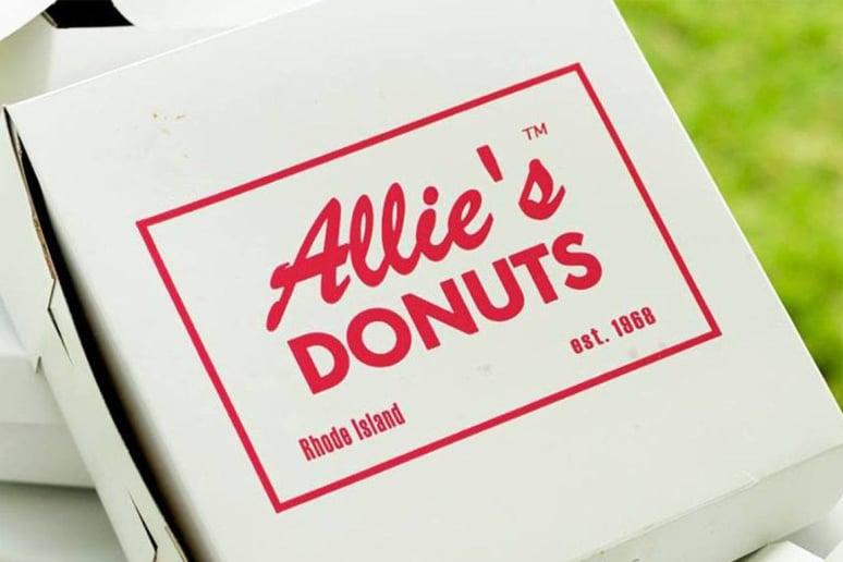 Rhode Island: Allie's Donuts, North Kingstown