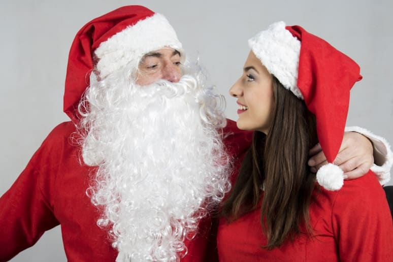 You and Santa Are Besties