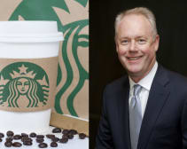 starbucks ceo kevin johnson protests