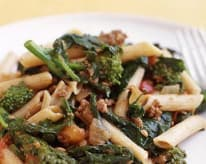 Pasta with Broccoli Rabe and Bolognese Sauce