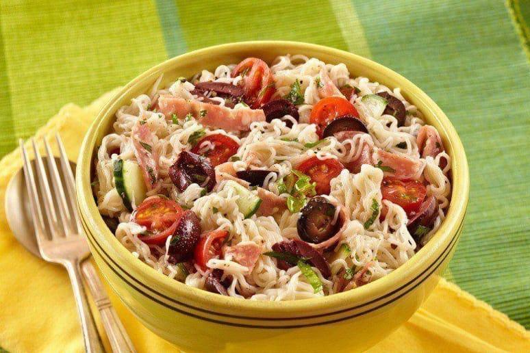 """Italian """"Pasta"""" Salad"""