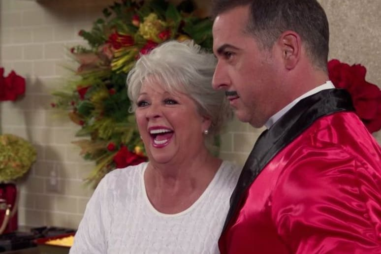 Paula Deen and Family Wish You Happy Holidays in a Very Strange Video
