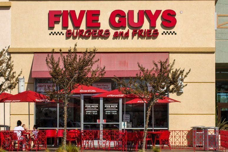Obama's Favorite Fast Food: Five Guys Burgers and Fries
