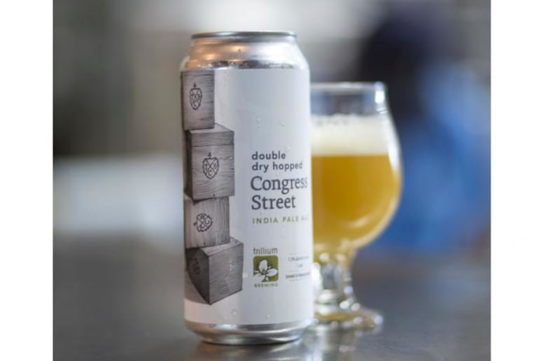 Best Beer: Double Dry Hopped Congress Street from Boston's Trillium Brewing Company