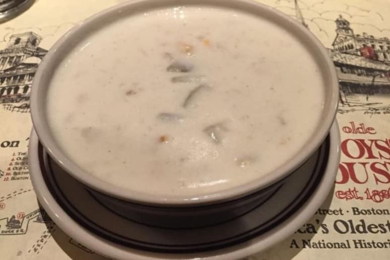 Best Soup: Union Oyster House, Boston: Clam Chowder