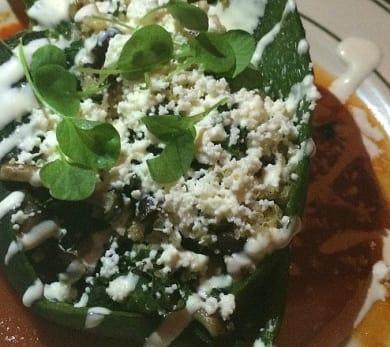Julian Medina's Chile Relleno de Quinoa