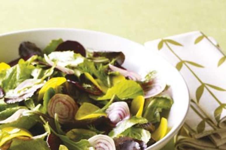 Whole-Leaf Radish and Herb Salad