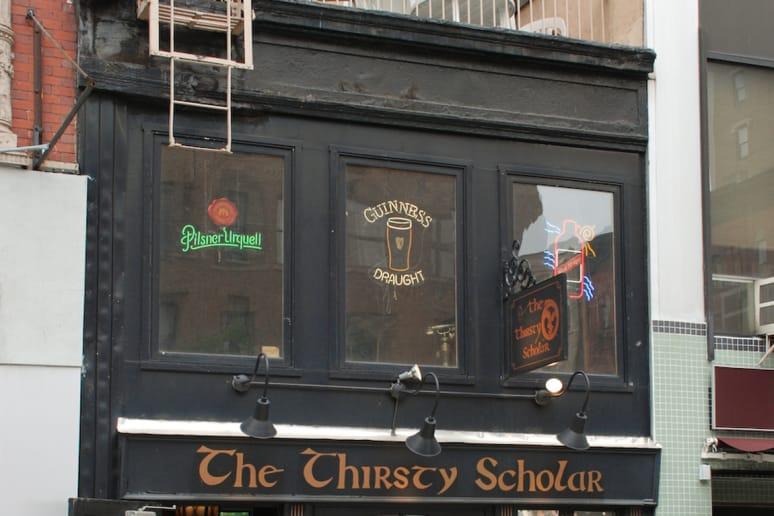 The Thirsty Scholar, New York University, New York City