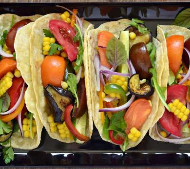 Sweetcorn Tacos