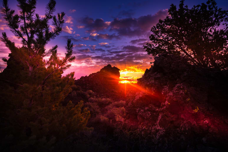 Idaho: Craters of the Moon National Monument and Preserve (Arco)