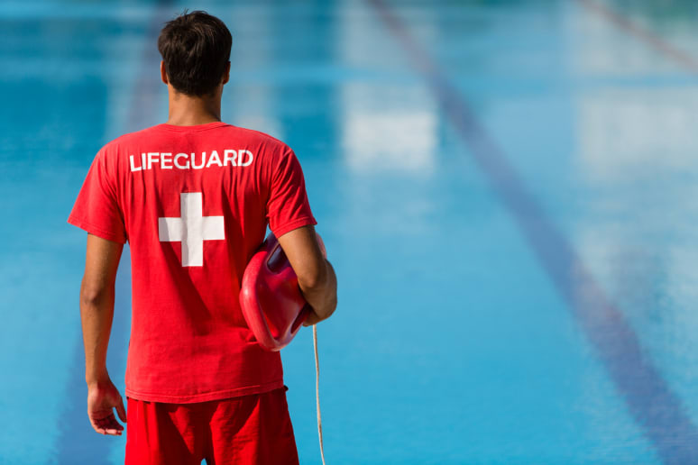 Keep a Lifeguard in Sight at All Times