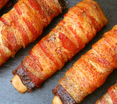 Double Smoked Bacon Wrapped Ribs