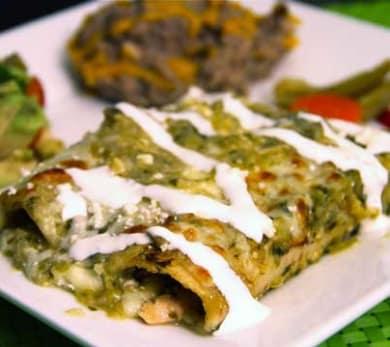 Angie's Enchiladas Verdes
