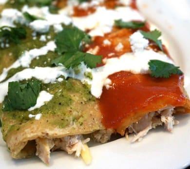 Chicken Enchiladas, Salsa Verde, Red Enchilada Sauce, Easy Mexican Recipe, Chicken Enchilada Recipe